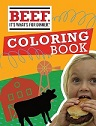 Beef Coloring Book thumb
